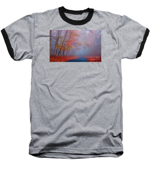 Journey Baseball T-Shirt by Rima Biswas