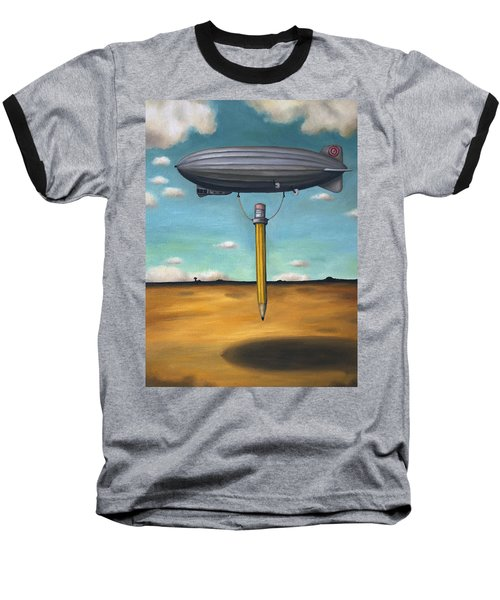 Lead Zeppelin Baseball T-Shirt by Leah Saulnier The Painting Maniac