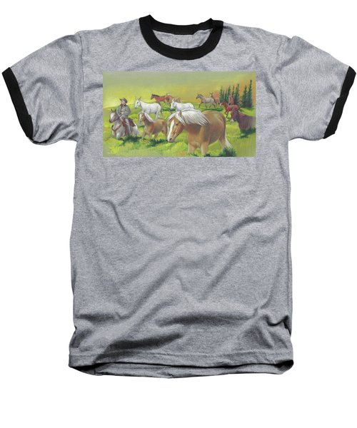 Leading The Bell Mare Baseball T-Shirt