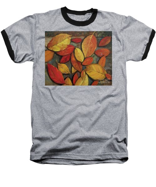 Leaf Collection Baseball T-Shirt