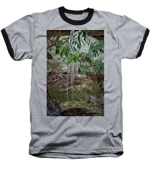 Leaf Drippings Baseball T-Shirt