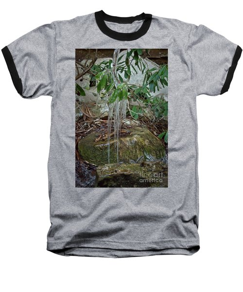 Leaf Drippings Baseball T-Shirt