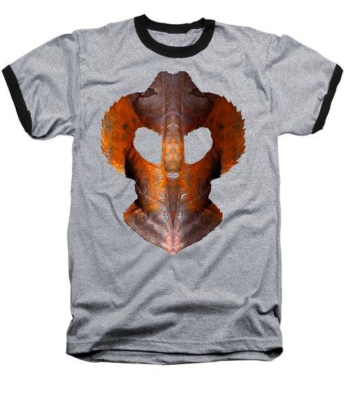 Leaf Mask 2 T Shirt Baseball T-Shirt by WB Johnston