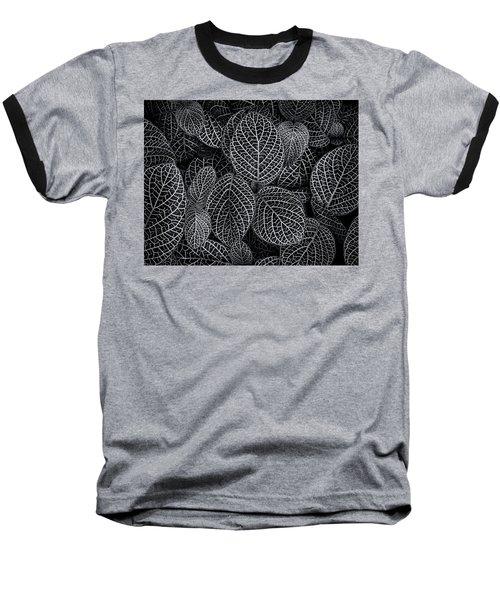 Baseball T-Shirt featuring the photograph Leaf Pattern by Wayne Sherriff