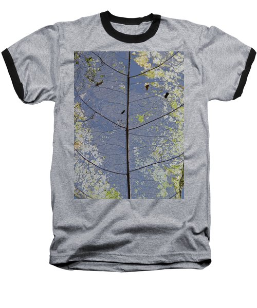 Leaf Structure Baseball T-Shirt