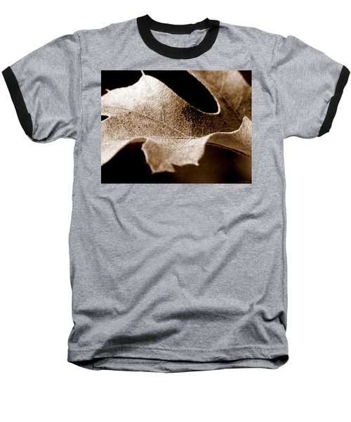 Leaf Study In Sepia Baseball T-Shirt