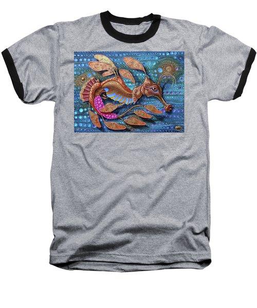 Leafy Seadragon Baseball T-Shirt