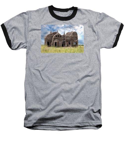 Lean On Me - Stick House Series 1/3 Baseball T-Shirt