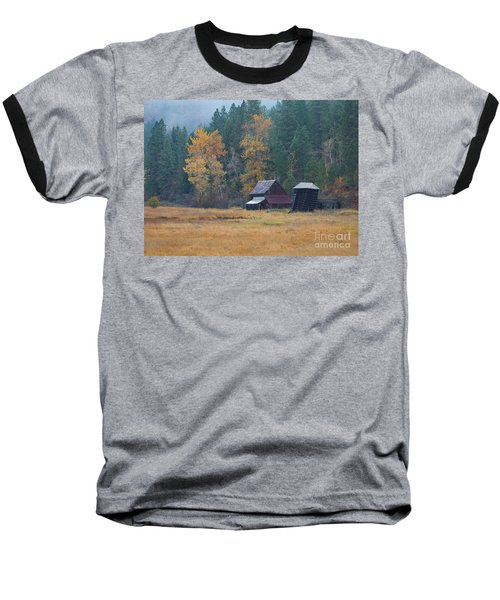 Leaning Into Winter Baseball T-Shirt