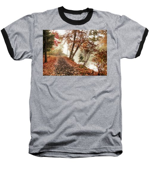 Leaning Tree Baseball T-Shirt