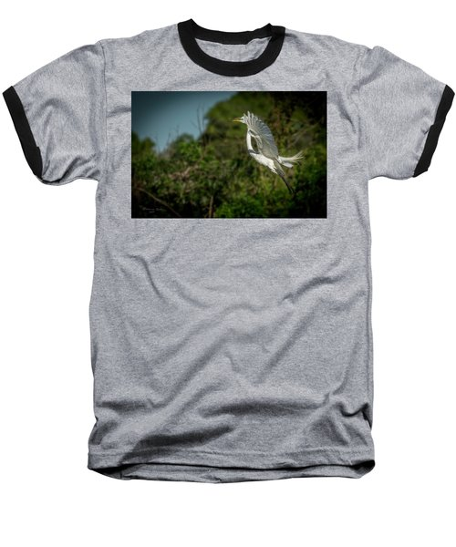 Baseball T-Shirt featuring the photograph Leap Of Faith by Marvin Spates