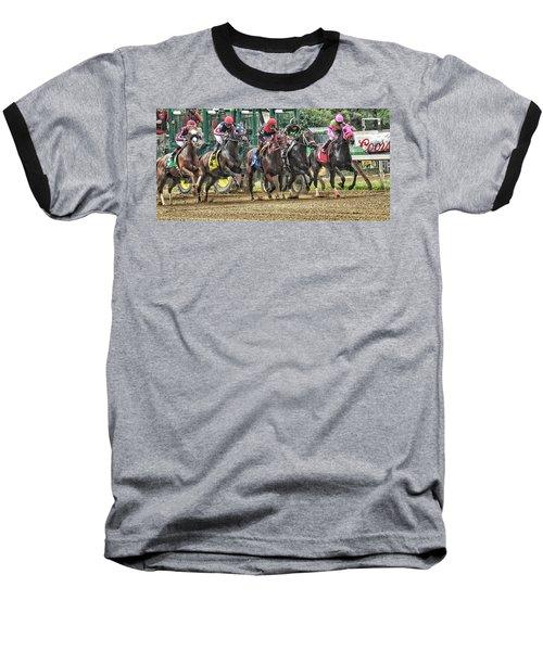 Leaping Forward Baseball T-Shirt