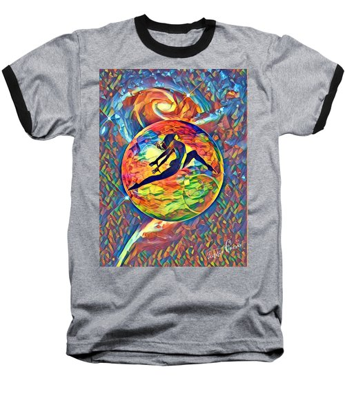 Leaping Home Baseball T-Shirt