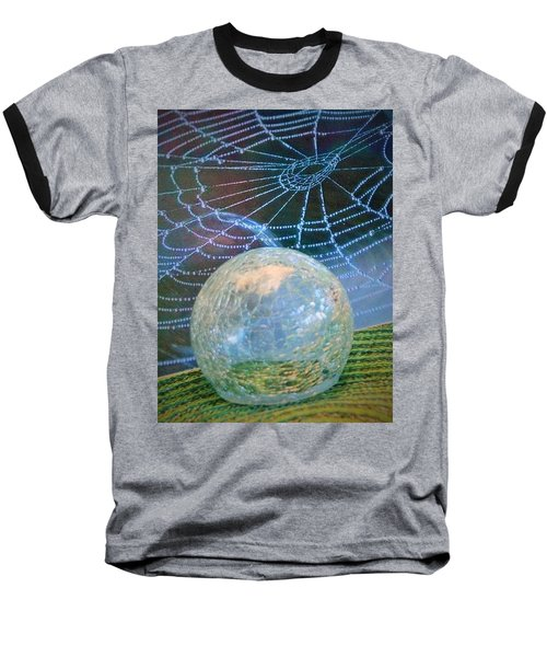 Baseball T-Shirt featuring the photograph Learning by John Glass