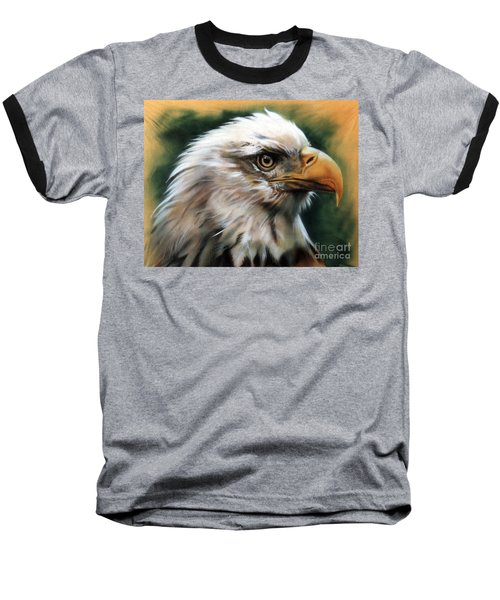 Leather Eagle Baseball T-Shirt