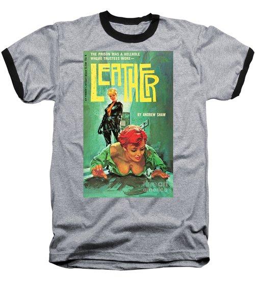 Leather Baseball T-Shirt