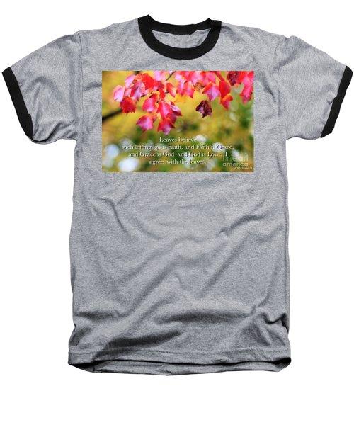 Leaves Believe Baseball T-Shirt