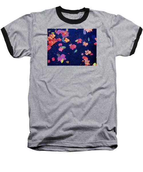 Baseball T-Shirt featuring the photograph Leaves by Christopher Woods