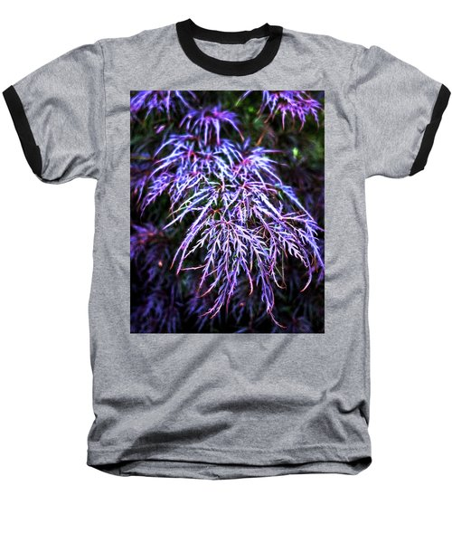 Leaves In The Light Baseball T-Shirt