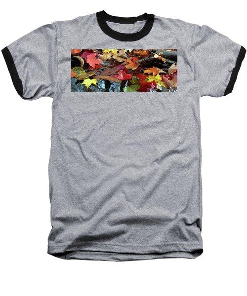 Leaves Of Color Baseball T-Shirt
