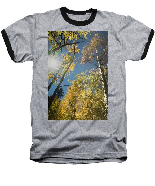 Leaves Of Fall Baseball T-Shirt