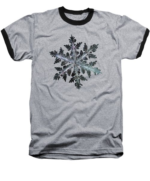 Leaves Of Ice, Panoramic Version Baseball T-Shirt