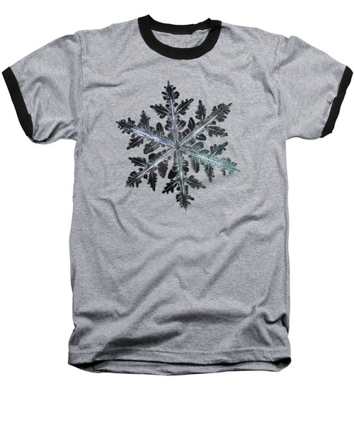 Leaves Of Ice, Panoramic Version Baseball T-Shirt