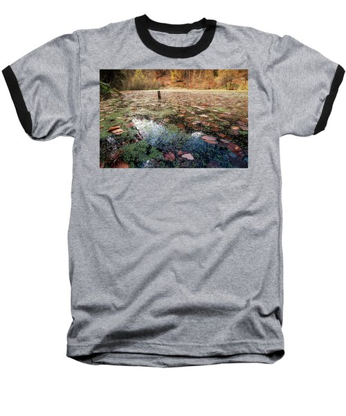 Leaves On The Lake Baseball T-Shirt