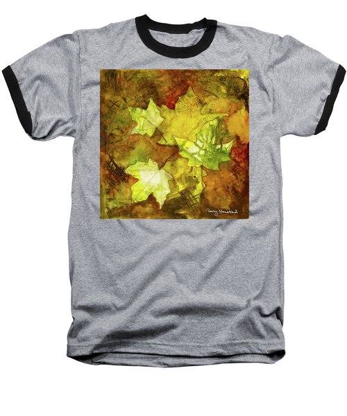 Leaves Baseball T-Shirt by Terry Honstead