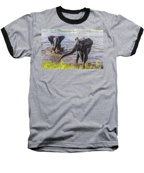 Leaving The River Baseball T-Shirt