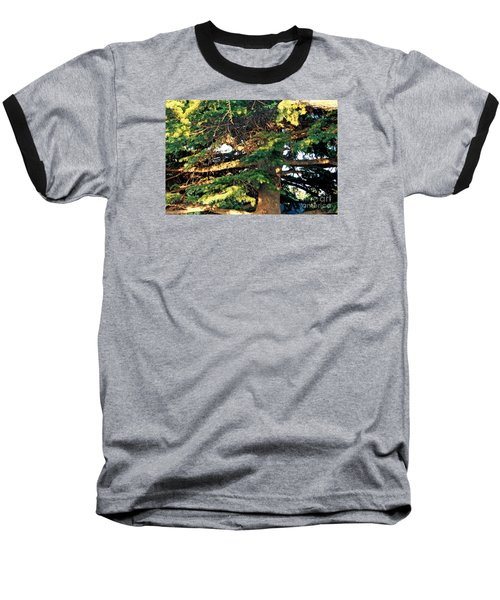 Lebanese Cedar Baseball T-Shirt