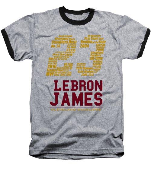 Lebron 23 Baseball T-Shirt by Augen Baratbate