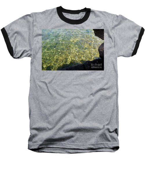 Ledge View Ripples Baseball T-Shirt