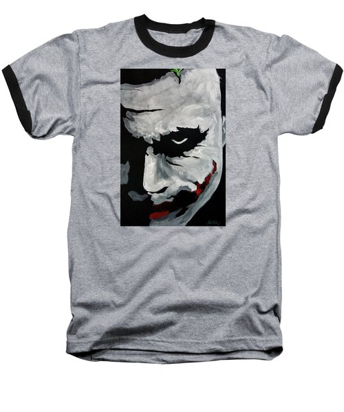 Ledger's Joker Baseball T-Shirt by Dale Loos Jr