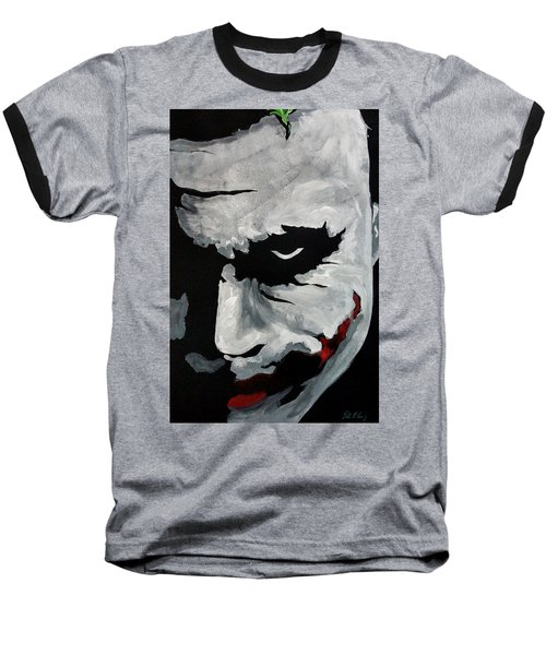 Ledger's Joker Baseball T-Shirt