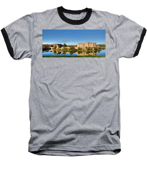 Leeds Castle And Moat Reflections Baseball T-Shirt