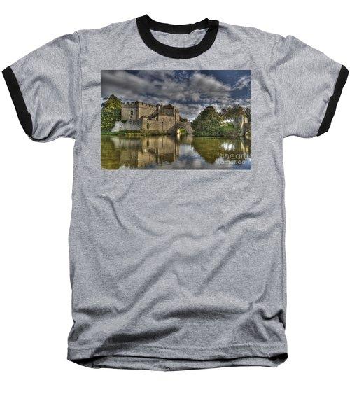 Leeds Castle Reflections Baseball T-Shirt