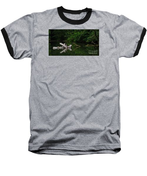 Baseball T-Shirt featuring the photograph Left Behind by Pamela Blizzard