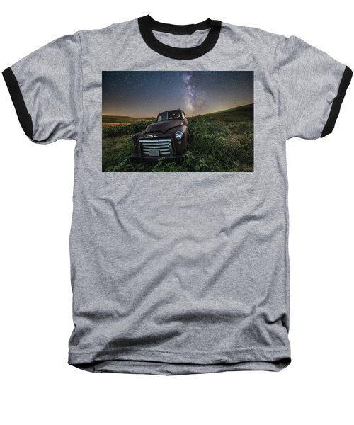 Baseball T-Shirt featuring the photograph Left To Rust by Aaron J Groen