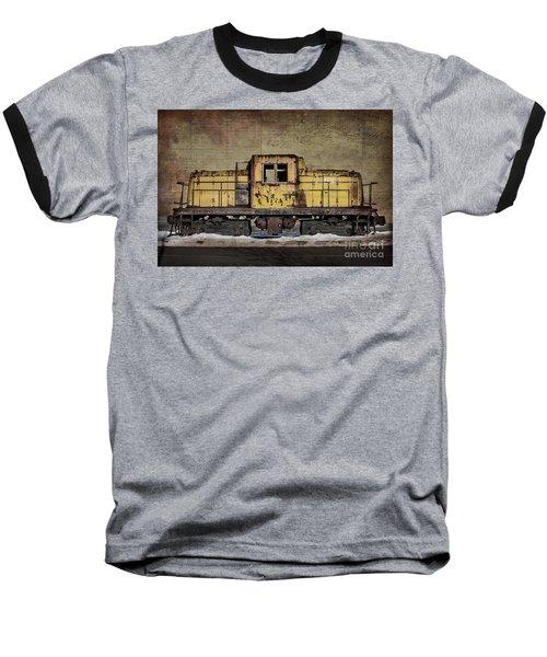 Left To Rust Baseball T-Shirt by Judy Wolinsky