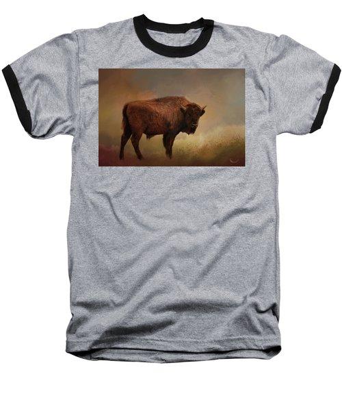 Legend Of Buffalo Spirit Baseball T-Shirt
