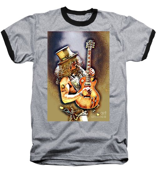 Legends Of Rock - Slash - Sweet Child Baseball T-Shirt