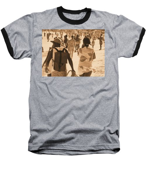 Baseball T-Shirt featuring the photograph Legion by Beto Machado