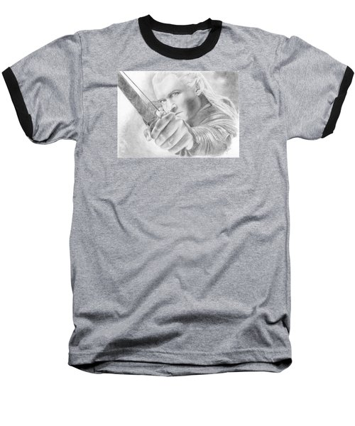 Legolas Greenleaf Baseball T-Shirt by Bitten Kari
