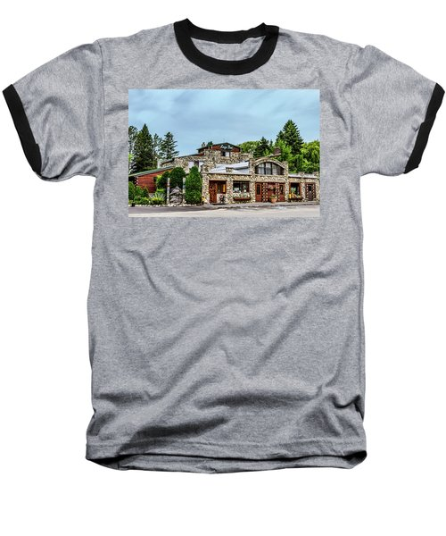 Baseball T-Shirt featuring the photograph Legs Inn Of Cross Village by Bill Gallagher