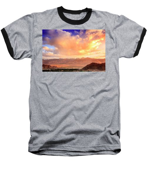 Baseball T-Shirt featuring the photograph Leh, Ladakh by Alexey Stiop