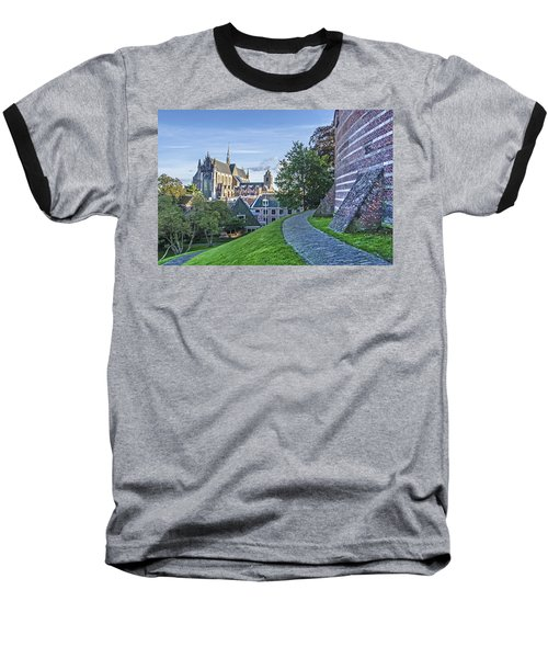 Leiden, The Church And The Castle Baseball T-Shirt
