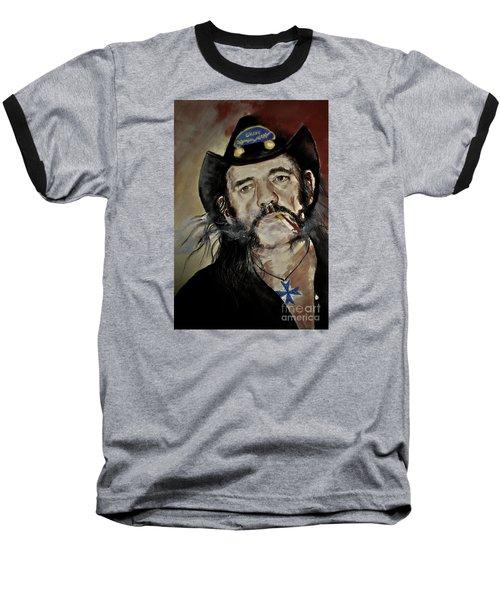 Lemmy Kilmister Motorhead Baseball T-Shirt