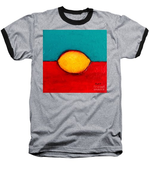 Lemon Baseball T-Shirt by Fred Wilson