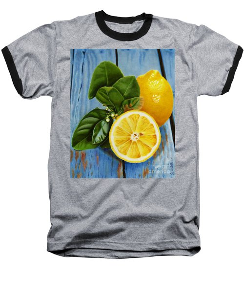Lemon Fresh Baseball T-Shirt
